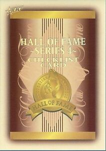 2012 AFL ETERNITY  HALL OF FAME SET HF185-HF217 33 CARDS IN THE SET