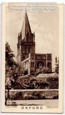 Christ Church Cathedral University of Oxford England 1930s Trade Ad Card - Christ Craft