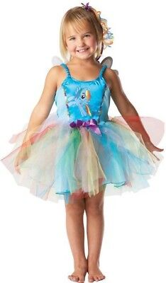 Rubies Kinderkostüm 3881840 My Little Pony Rainbow Dash MLP Kleid Kostüm