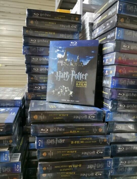 Harry Potter: Complete 8-Film Collection (DVD, 2011, 8-Disc Set) NEW BLU RAY