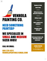 2 Experienced Painters, Great Quality & Great Service