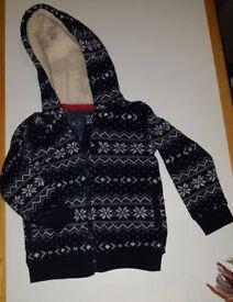 Boys thick cardigan/jacket 18-24 mths