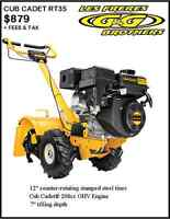GREAT DEALS ON GARDEN TILLERS AT G & G BROTHERS LTD