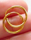 Hoop 22k Yellow Gold Fine Earrings without Stones