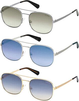 Guess Men's Brow Bar Navigator Sunglasses w/ Gradient Lens - (Brow Bar Sunglasses)