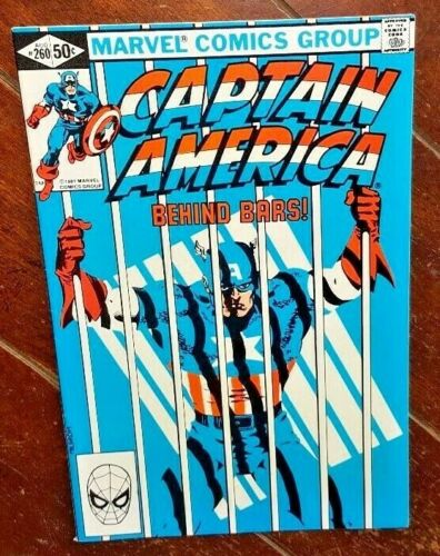 Captain America Vol. 1 #260, (1981, Marvel): Prison Reform!