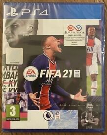 **SEALED** FIFA 21 GAME FOR PS4 BRAND NEW FIFA21 FOR PLAYSTATION 4