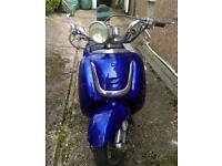 49cc blue Tamoretti full working condition