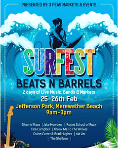 Surfest Beats N Barrels - Stall Holders Merewether Newcastle Area Preview
