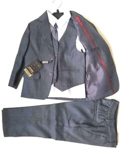 Boy's 5 pcs suit set size 7,8 and 10