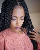 Tresses africaine, BOx BrAId , TWIST à partir de 35$