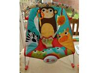 Further reduced!!!Bundle sale!! Baby bouncer, playmat and musical mobile