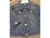 Denim jacket 3-6m