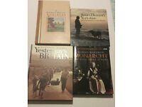 Job lot of books, yesterdays britain, james herriot, etc