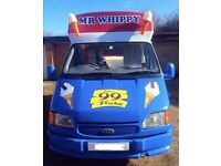 EXCELLENT CONDITIONED ICE CREAM VAN WITH REVERSING CAMERA - PRICE DROP DUE TO UPGRADE PURCHASE