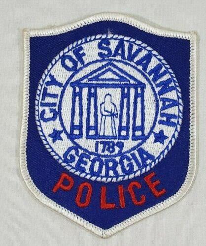 CITY OF SAVANNAH GEORGIA GA POLICE SHOULDER PATCH
