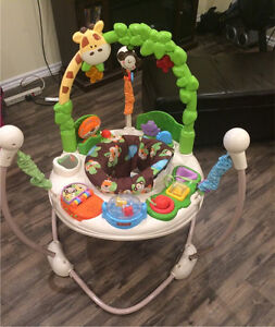 Fisher price safari jumper/exersaucer