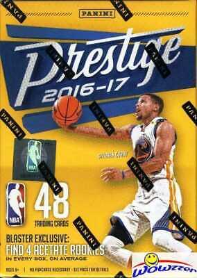 2016/17 Panini Prestige Basketball Factory Sealed Blaster Box-EXCLUSIVE ACETATE!