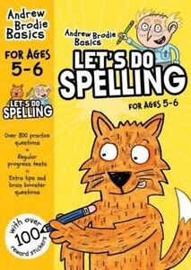 Let's do Spelling 5-6, New, Andrew Brodie Book