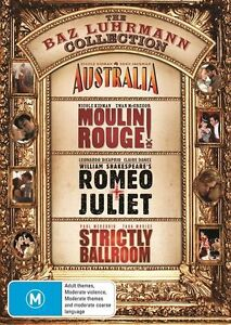 Australia / Moulin Rouge / Romeo and Juliet / Strictly Ballroom DVD R4