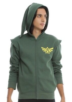 THE LEGEND OF ZELDA COSPLAY HOODIE Men Size (Legend Of Zelda Kostüm Hoodie)