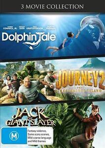 NEW..Dolphin Tale / Journey 2 -  Mysterious Island / Jack The Giant Slayer d1915
