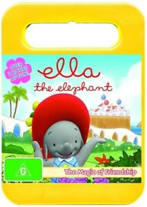 Ella The Elephant - The Magic Of Friendship : Vol 1 (DVD, 2014) New & Sealed R4