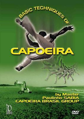 BASIC TECHNIQUES OF CAPOEIRA NEW DVD