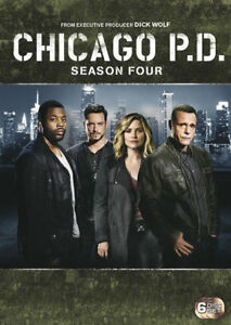 Chicago P.D.: Season 4 (DVD, 2017, 6-Disc Set), NEW SEALED REGION 4