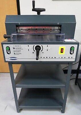 Challenge Spartan 150sa 15 Electric Paper Cutter Triumph 4315 1350