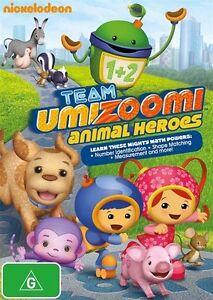 Team Umizoomi: Animal Heroes NEW R4 DVD