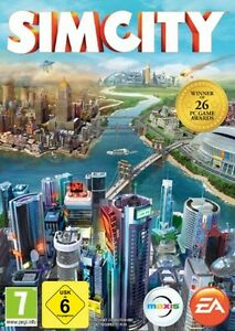 PC DVD Sim City SIMCITY 5 neues & originalverpacktes Spiel DVD Versand