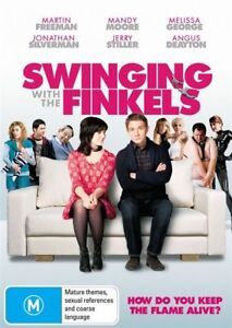 Swinging With The Finkels (2010) Mandy Moore - NEW DVD - Region 4