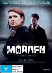 Camilla Lackberg - Morden Collection (DVD, 2014, 3-Disc Set) (D116)(D148)(D178)