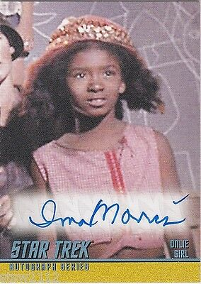 STAR TREK TOS 40TH ANNIVERSARY SERIES 2 A139 IONA MORRIS ONLIE GIRL AUTOGRAPH