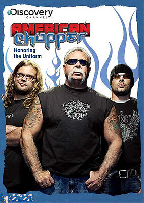 American Chopper Men Of Discovery Channel Series  Dvd Brand New  Factory Sealed