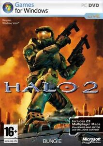 NEW! Microsoft Halo 2 First Person Shooter for PC-DVD