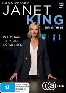 Janet King Season 3 Third Three DVD NEW Marta Dusseldorp Region4
