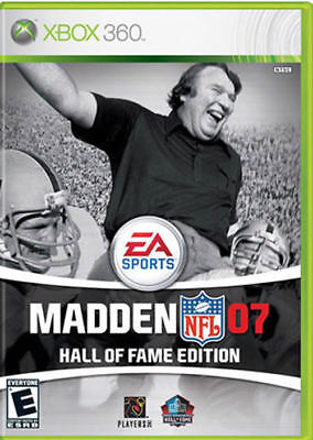 Madden Nfl 2007 Hall Of Fame Edition Xbox 360 New Xbox 360
