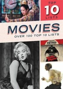 Top Ten Lists: Movies (Top Tens), Hill, Rob, New Book