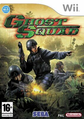 Ghost Squad Wii Nintendo jeu tir shooter games spellen spelletjes 1738