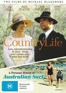 Country Life / PERSONAL HISTORY OF THE AUSTRALIAN SURF (DVD) NEW/SEALED