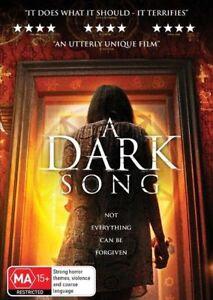 A Dark Song (DVD, Australian Release) HORROR Terrifies [Region 4] NEW/SEALED