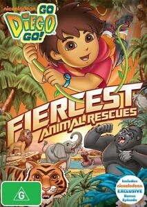 Go Diego Go: Fiercest Animal Rescues DVD R4