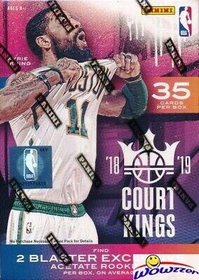 2018/19 Panini Court Kings Basketball Sealed Blaster Box-2 EXCLUSIVE ACETATE RC
