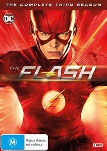 The-Flash-Season-3-DVD-2017-6-Disc-Set-NEW-amp-SEALED