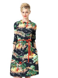 Leona Edmiston dress - Aurora Chinese Garden size 1