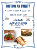 Host, Server, Catering and Rental