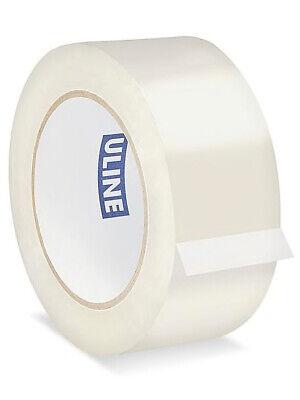 Uline Industrial Tape - 2 Mil 2 X 110 Yds Clear - 18 Rolls