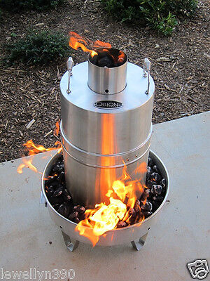 ORION OUTDOOR STAINLESS STEEL CONVECTION COOKER POULTRY  NEW